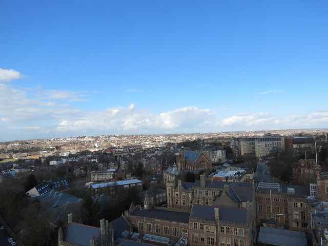 View from Wills Memorial Building