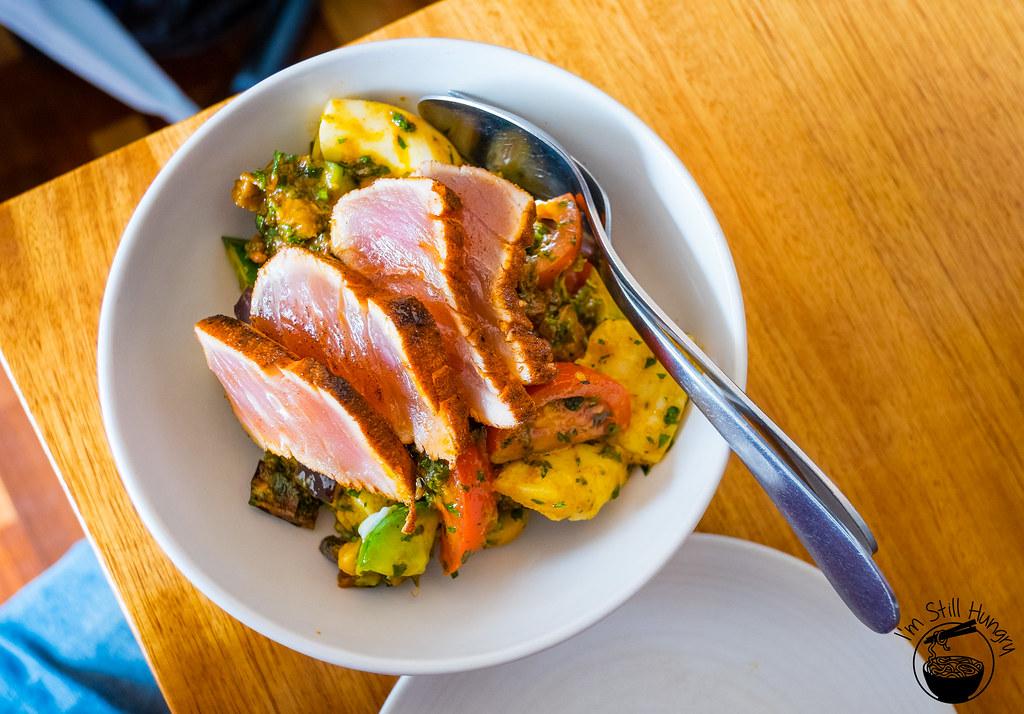 Kepos Street kitchen seared tuna