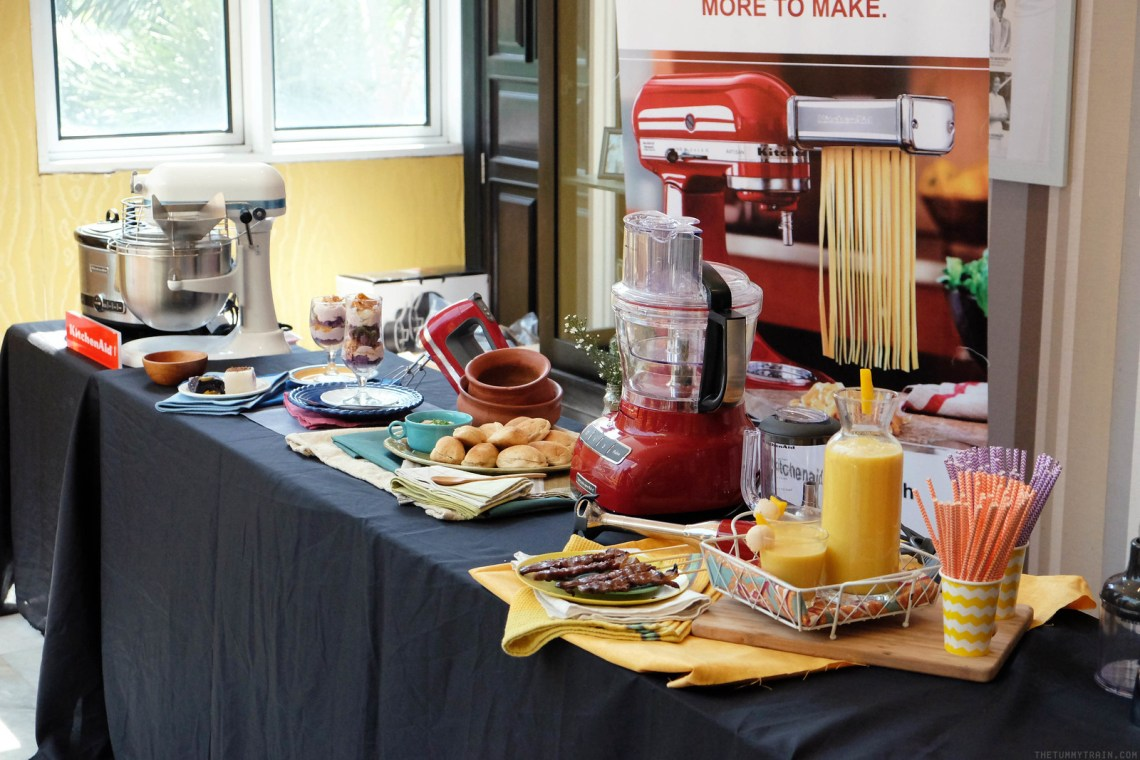 Yummy Mag And Kitchenaid Cooking Demo With Chef Gino Gonzalez