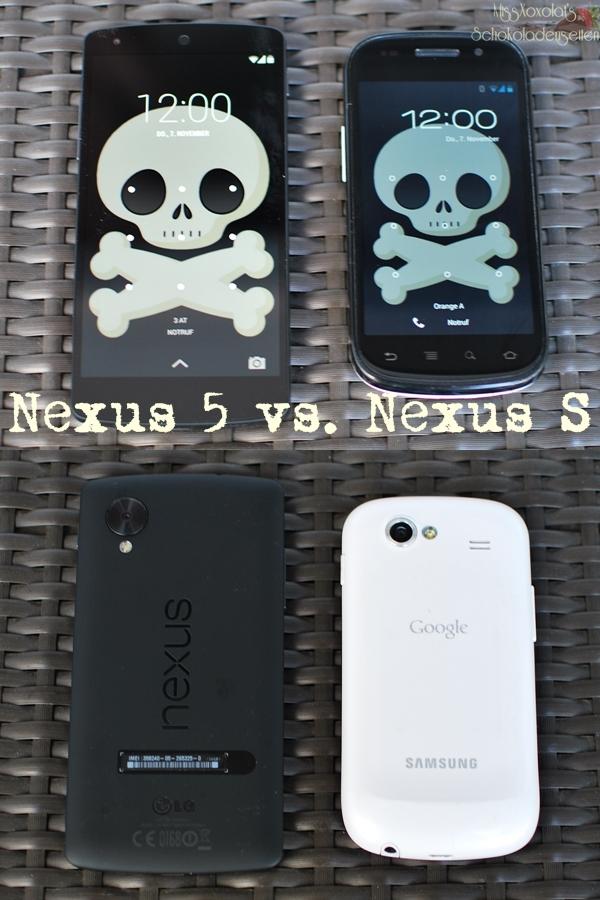 LG Nexus 5 vs. Samsung Nexus S