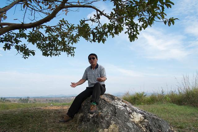 Plain of jars, site 1, Phon Svanh, Laos