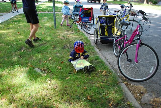 Books and Bikes ride