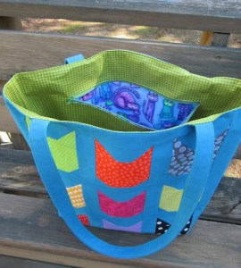 Colorful Cats Totebag