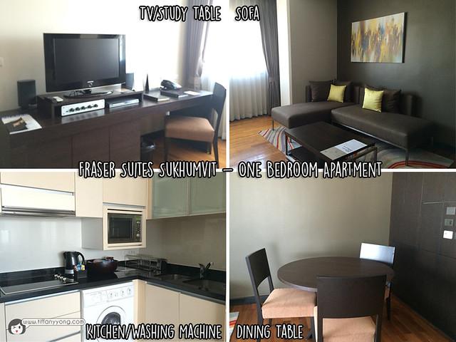 Fraser Suites Sukhumvit One room Apartment