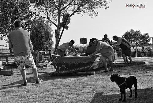Arrimant la barca 1 by ADRIANGV2009