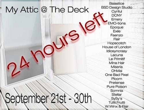 My Attic 24 Hours Left