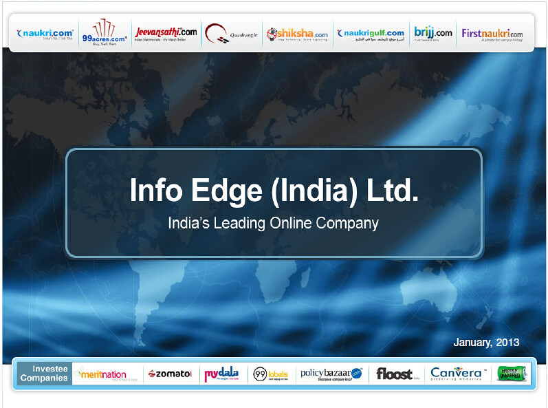 Info Edge - Placement Paper