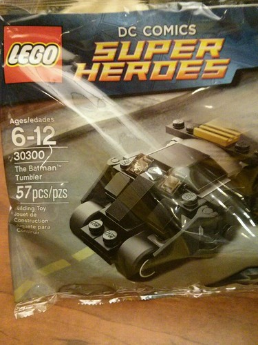 LEGO DC Universe Super Heroes The Batman Tumbler Polybag (30300)