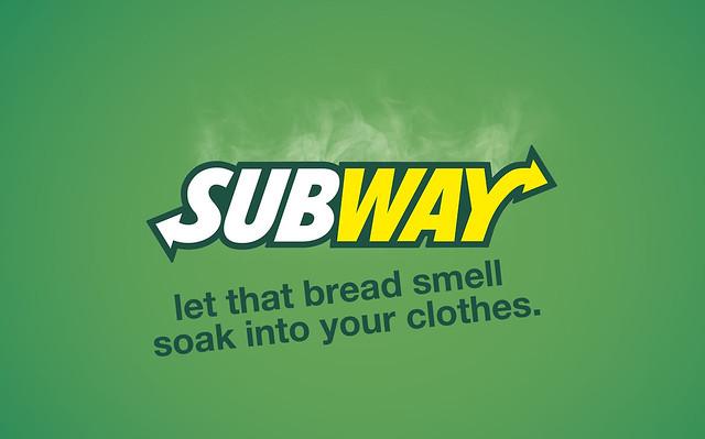 Honnest Slogans - Subway