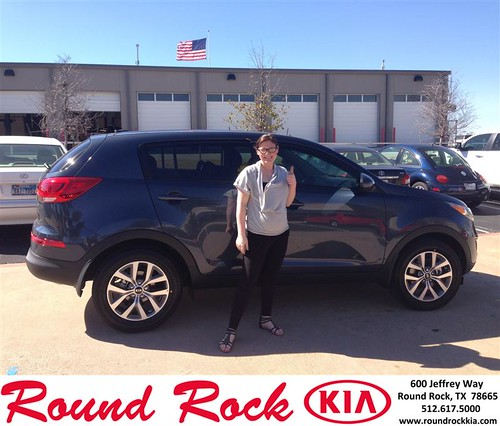Thank you to Katelyn Benavides on your new 2014 #Kia #Sportage from Jorge Benavides and everyone at Round Rock Kia! #NewCarSmell by RoundRockKia