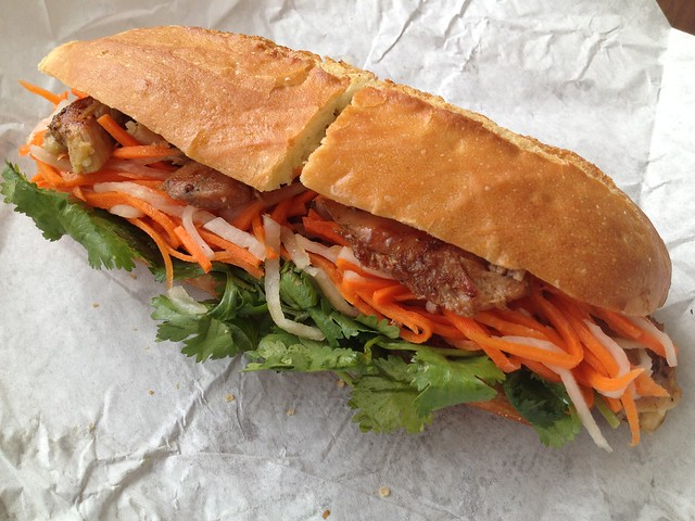 Chicken banh mi - Little Saigon