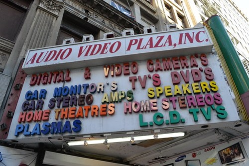 Home theatres and stereos