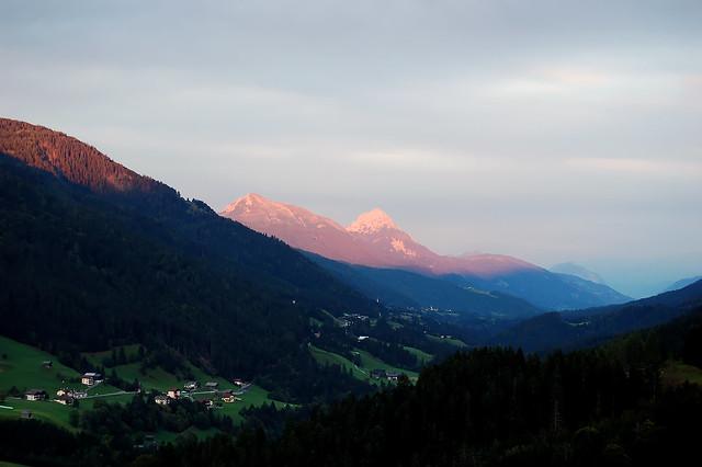 Ausblick von Obergail