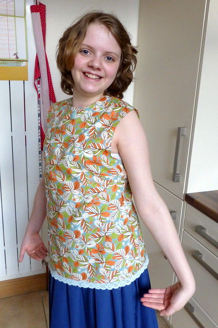 Bethany in her new top!