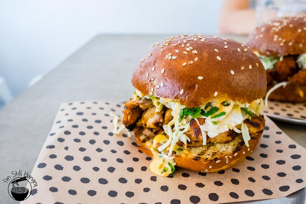 Chur Burger chicken burger