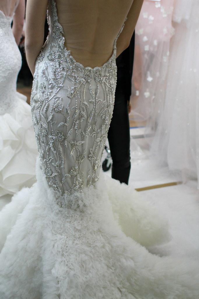 Reem Acra Spring 2014 Bridal- Backstage - 021