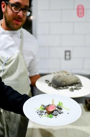 7th Course: Lamb in Calistoga Clay
