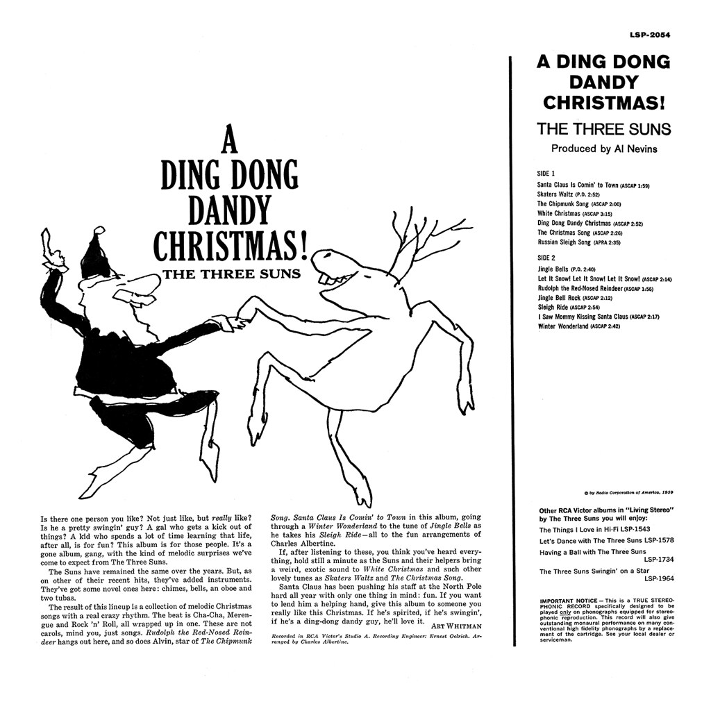 The Three Suns - A Ding Dong Dandy Christmas!