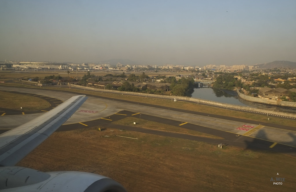 Take-off from Mumbai