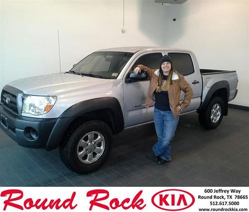 Happy Birthday to Michelle Weaver from Eric Armendariz and everyone at Round Rock Kia! #BDay by RoundRockKia