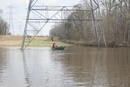 High-voltage paddling