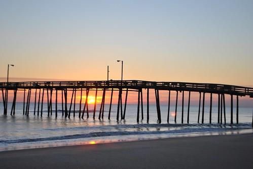 Nags Head Pier - Sunrise