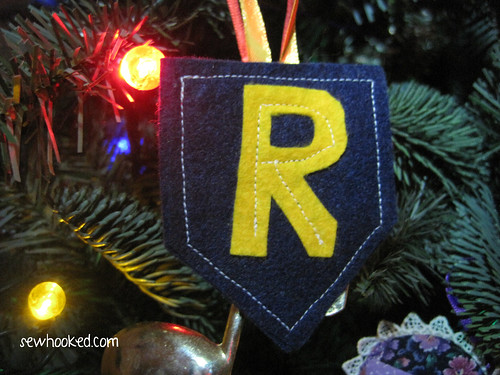 Handmade Fandom Themed Christmas Ornament