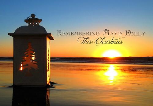 88/365 - Mavis Emily's Christmas Candle
