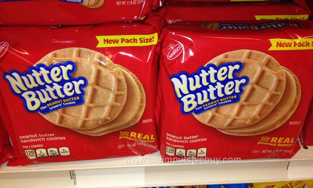 Nutter Butter New Pack Size