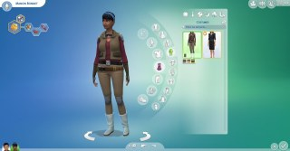 carrière astronaute Les Sims 4