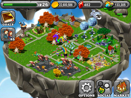 My third island in DragonVale