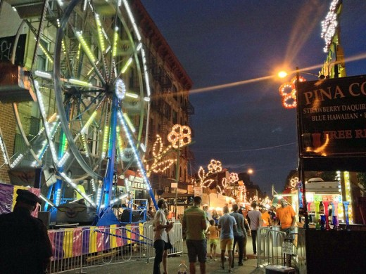For the Folks Who Light Up the Lady of Mount Carmel Feast, It's