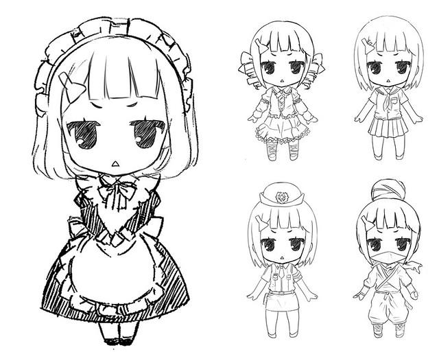 Nendoroid More: Costume Parts