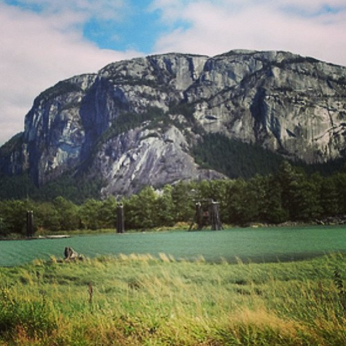 Squamish BC a rock climbing oasis by @MySoDotCom