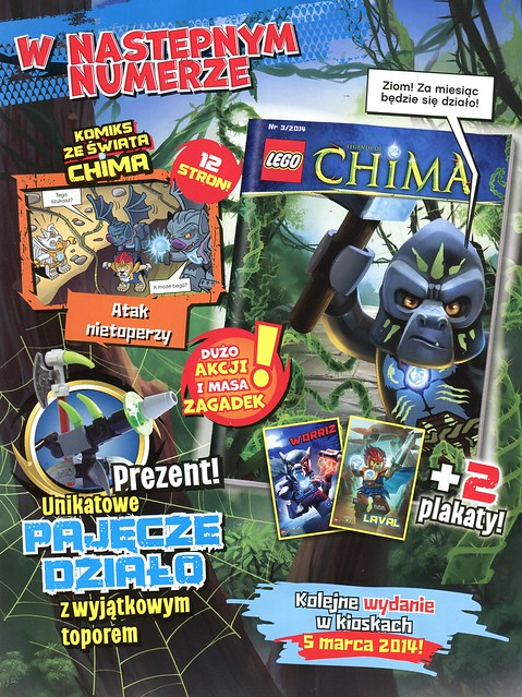 LEGO Legends of Chima Oficjalny Magazyn 2014-02 03