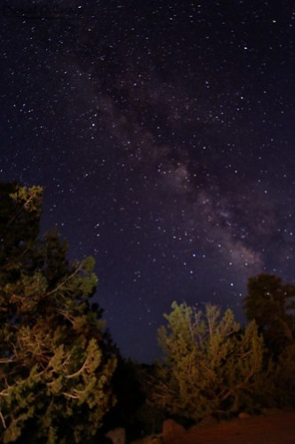 Milky Way over Zion Backcountry
