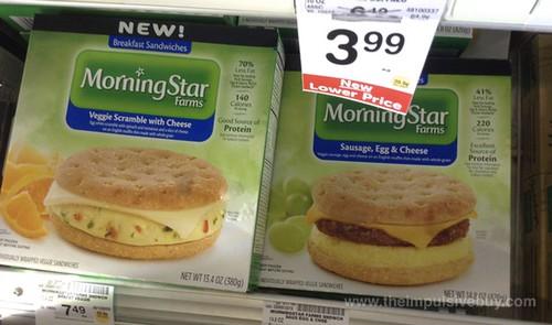 Morningstar Farms Breakfast Sandwiches