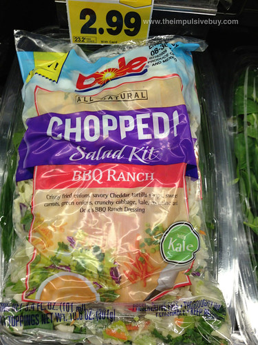 Dole BBQ Ranch Chopped! Salad Kit