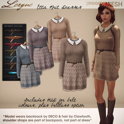 League Etta Knit Dress [Collabor88]