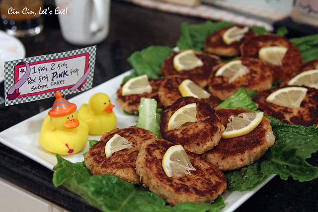 baby shower - fish cakes