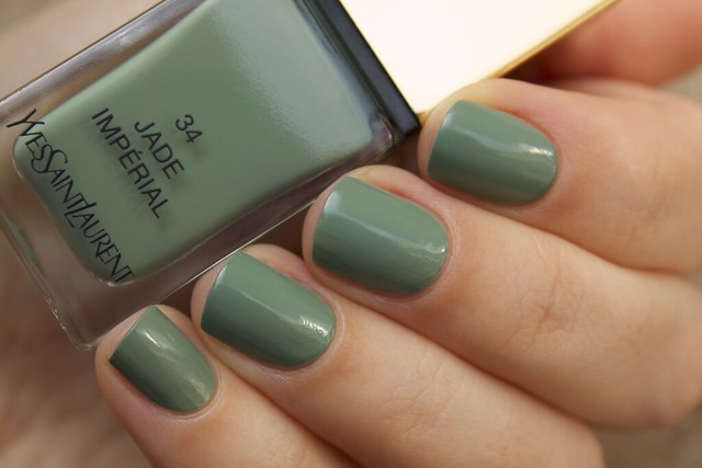 03 YSL Jade Imperial swatches
