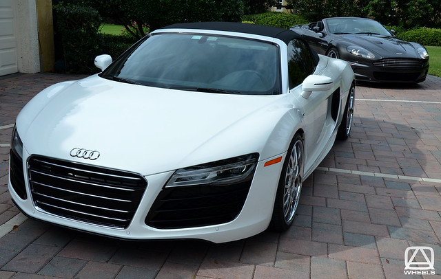 Audi R8 Spyder Detailing and Modesta Glass Coating by Brian Guy