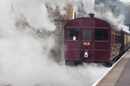 No. 93, GWR Steam Rail motor, Bishops Lydeard, 23rd March 2013