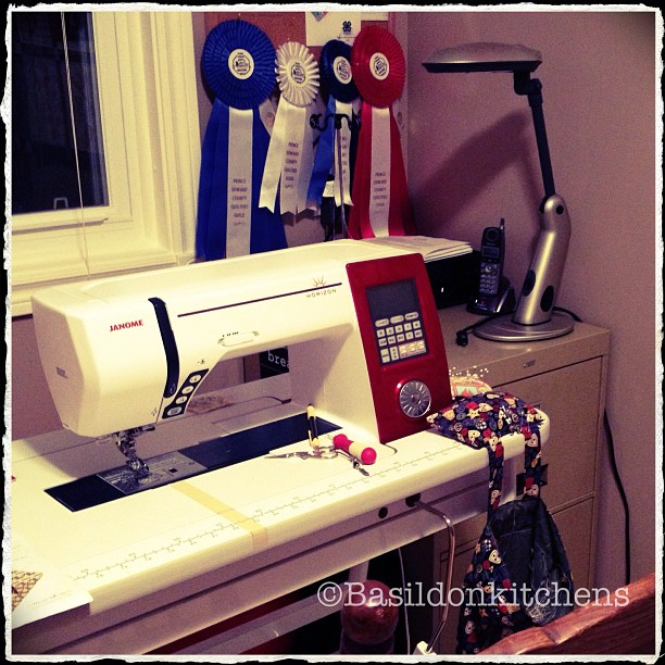 July 31 - equipment {my Janome Horizon 7700; love love LOVE} #photoaday #janome #sewing #quilting
