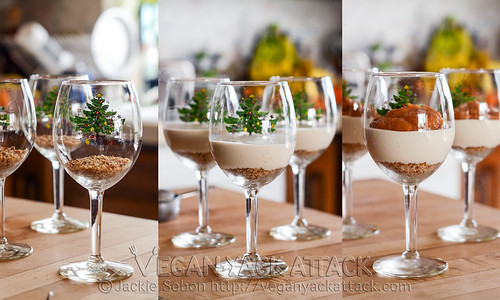 Persimmon Cheesecake in a Glass