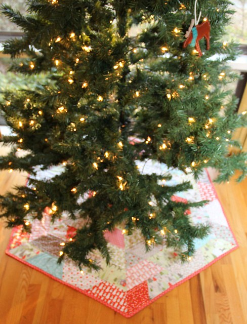 hexagonal tree skirt