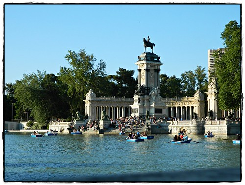 Lago Parque de El Retiro, Madrid