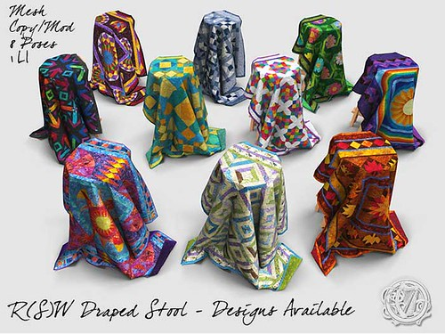 Quilt Designs used in Second Life