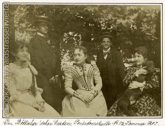 Familienfoto Joachim Ringelnatz 1897