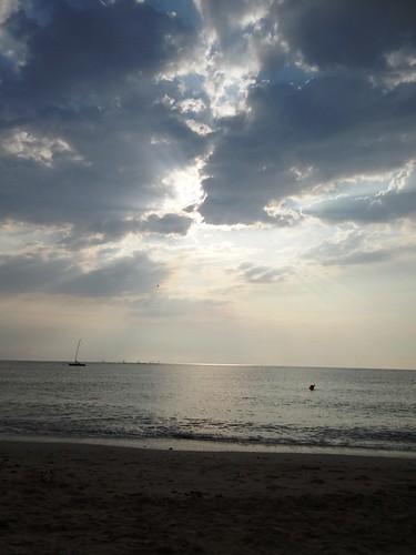 la mare cerul